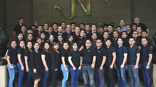 Picture of the Big Dutchman Philippines staff