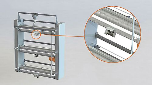AVC-3D manure belt scraper