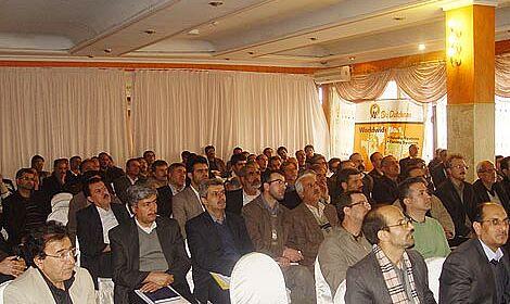 Participants at the broiler production seminar