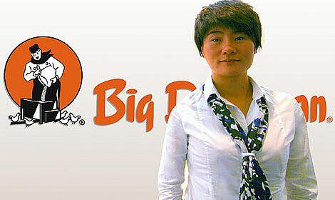 Meng Jin Fen (Linda), Big Dutchman area sales manager for North China