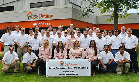 Latin American Agent's Meeting at Big Dutchman Inc, USA