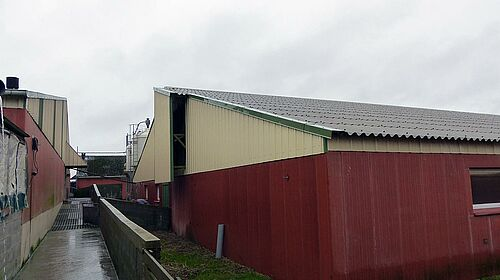 Rearing house with piglet equipment and feeding systems from Big Dutchman