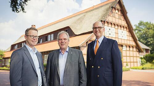 Lars Vornhusen, Siegbert Bullermann and Bernd Meerpohl