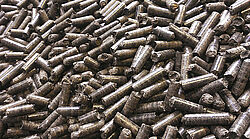 Pile of pellets