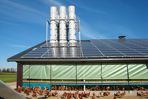 Poultry climate control