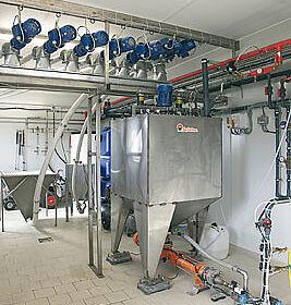 Liquid feeding system HydroAir