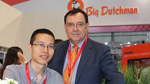 Zhang Jia and Ron Lane