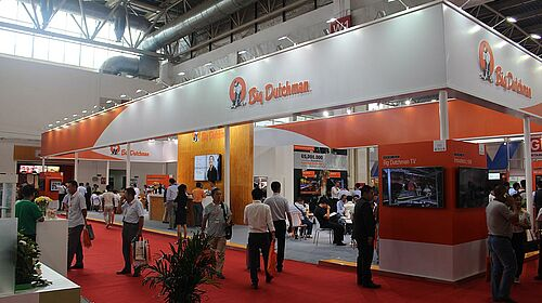 Large and in charge, the 2016 VIV booth in Beijing
