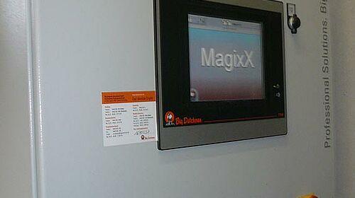 MagixX-B controller for exhaust air treatment