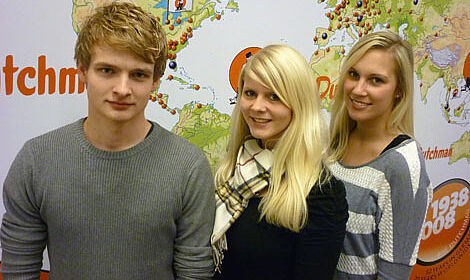 Three Big Dutchman trainees are very enthusiastic about their foreign exchange internships.