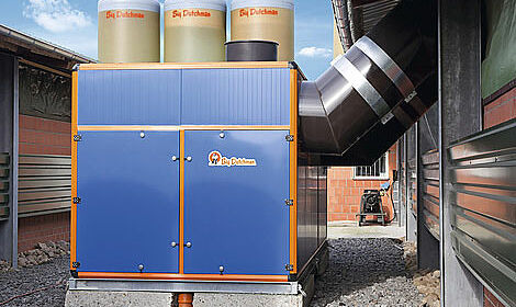 Reducing heating costs and simultaneous exhaust air treatment in poultry houses: the Earny heat exchanger