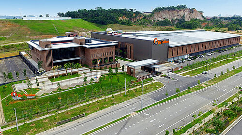 Aerial photo of BD Asia