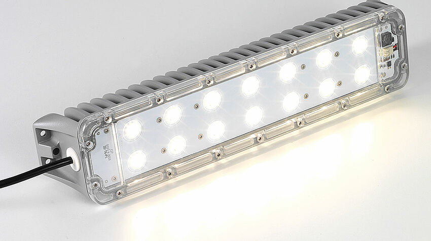LED panel light HELIOS