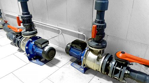 Pump technology in the finishing house