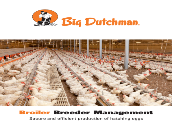 Big Dutchman leaflet: broiler breeder management