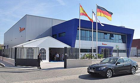 The Big Dutchman subsidiary BD Iberica at its new premises near Madrid