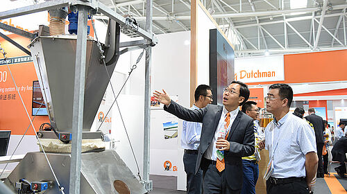 Visitors interested in an innovative product