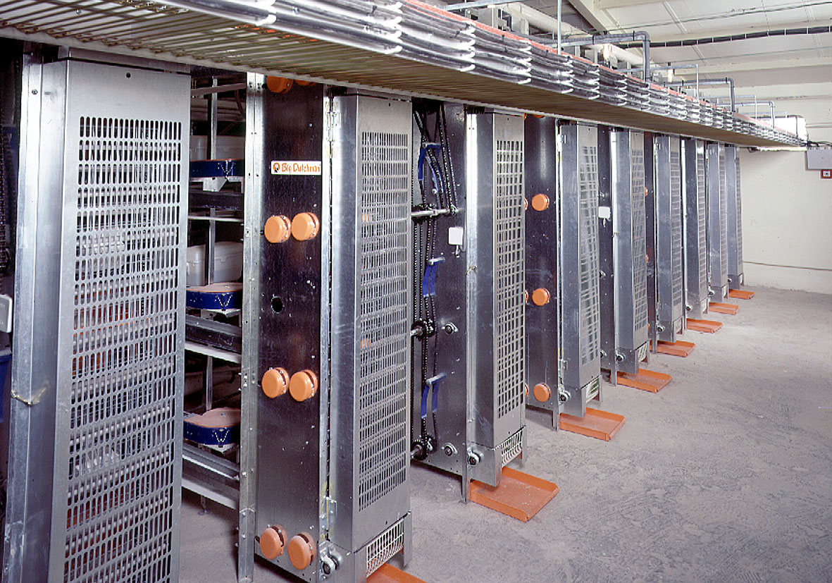 Poultry cages - poultry equipment and more in pictures | Egg