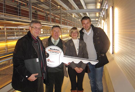 Diekmann Vechta egg production on two levels with modern poultry systems egg